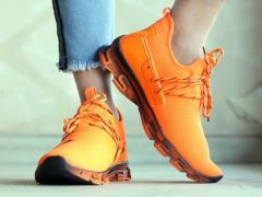 Latest Trendy WIN9 Men Latest Eag Orange Sports Shoes Perfect For Men (Pack Of 1)