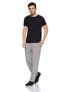 Mens Solid Cotton Regular Track Pants Perfect For Everyday Wearing (Pack Of 1)-SMCM-301