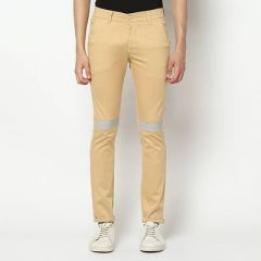 Trendy & Stylish Western Wear Casual Trousers For Mens (Khaki) (Pack Of 1)-SMCM-321