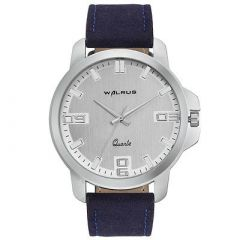 Trendy & Fashionable Analog Watches For Men & Boys (Silver) (Pack Of 1)