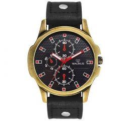 Stylish Men Analog Watches Suitable For Party, Weddings, Formal & Casual Occasions (Black) (Pack Of 1)