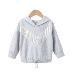 Full Sleeve Printed Polyester Regular Fit Sweatshirts Perfect For Girls (Pack Of 1)