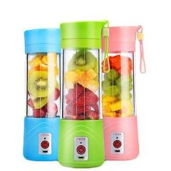 Portable & Lightweight Juicer Mixer Multipurpose Use For Travel & Mobile Charging (Pack of 1)