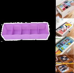 Krivish Multi Purpose Plastic Makeup Storage Stationery Organizer Drawer Container Holder (Multicolor)