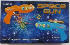 Space Gun Toy With 3D Lights And Sound For Kids, Boys & Girls (Packof 1)