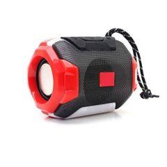 Drum Series Economy 5 W Bluetooth Speaker (Red & Black)