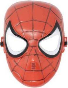 PTCMART Spiderman Avengers Design Face Mask For Kids (Red, Pack of 1)