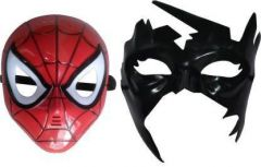 PTCMART Spiderman With Krish Mask Combo Mask For kids, Party Mask  (Multicolor, Pack of 2)
