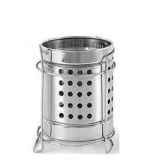 PALOMINO High-Quality Stainless Steel Spoon Stand/Cutlery Holder Case (Silver) (Pack of 1)