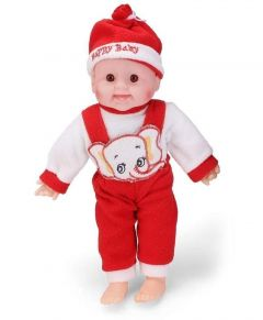 Laughing Baby Stuffed Soft Plush Toy For Kids, Boys & Girls (Pack Of 1) (Color May Vary)