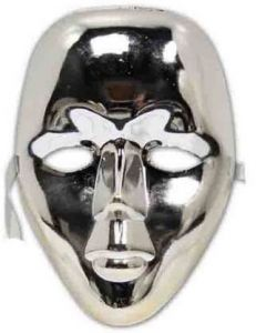 PTCMART Stylish Silver Plane Mask for Kids Party Mask(Pack of 1)
