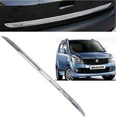 After Cars Maruti Suzuki Wagonr 2010 Car Chrome Dicky Garnish