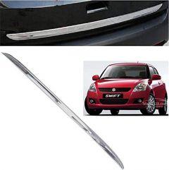 After Cars Maruti Suzuki Swift 2013 Car Chrome Dicky Garnish