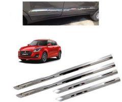 After Cars Maruti Suzuki Swift 2019 Car Steel Side Beading Set of 4