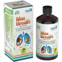 Tykhe Healthcare 100% Natural Max Breath Syrup(200 ml) (Pack of 1)