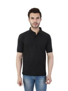 Men's Fashionable and Stylish Regular Fit Polycotton Polo T-Shirt (Pack of 1)