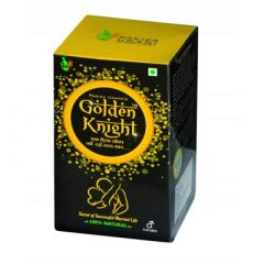 Pakiza Unani Golden Knight For Restores Energy and Improves Vitality, Physical Strength and Stamina in men (Pack of 1)