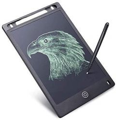 MALAVIYA Portable LCD Writing Board Slate Drawing Record Notes Digital Notepad with Pen Handwriting Pad Paperless Graphic Tablet for Kids at Home School
