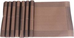 Mopi Brown Organic Cotton Table Linen Set  (Pack of 7)