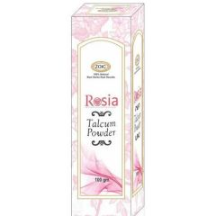Rosia Talcum Powder Gentle Fragrance & Reliable Protection Against Body Odor (100 Gm)