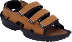 Men Stylish with Perfect & Regular Fit Tan Sandal (Pack of 1)