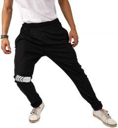 ADAAISTIC SPORTS Solid Lycra Blend Track Pants For Men's (Black) (Pack of 1)