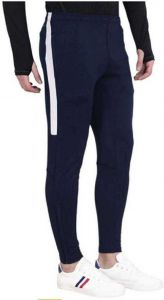 ADAAISTIC SPORTS Solid Polyester Blend Track Pants For Men's (Blue)(Pack of 1)