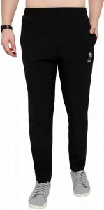 ADAAISTIC SPORTS Solid Polyester Blend Track Pants For Men's (Black) (Pack of 1)