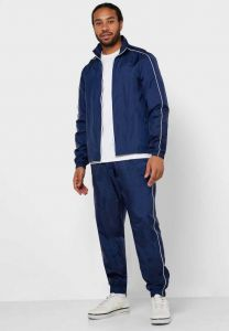 ADAAISTIC SPORTS Solid Polyester Blend Track Suit For Men's (Blue) (Pack of 1)