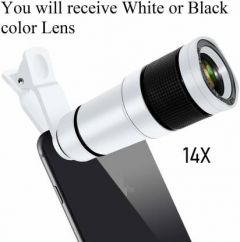 DSLR Blur Background Effect Mobile Telescope Lens kit 14x Zoom For All Mobile Camera And Android & iOS Devices