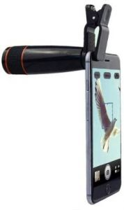 DSLR Blur Background Effect Mobile Telescope Lens kit 12x Zoom For All Mobile Camera And Android & iOS Devices