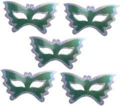 PTCMART Theme Party Butterfly Mask for Party Mask  (Pack of 5)