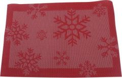 Mopi Red Organic Cotton Table Linen Set(Pack of 4)