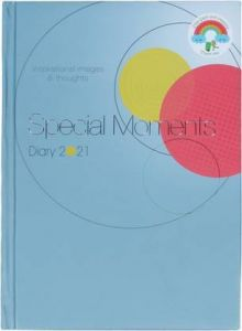 Toss Special Moments 2021 A5 Diary Ruled 330 Pages (Blue) (Pack Of 1)