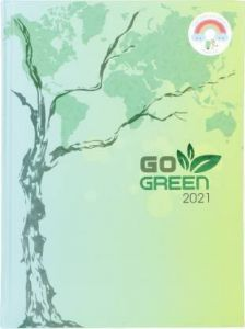 Toss Go-Green 2021 B5 Diary Ruled 330 Pages (Light Green)