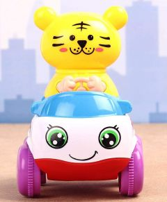 MohitEnterprises   Toddler Toy Car with Tiger Driver - Multicolor   Pack of 1