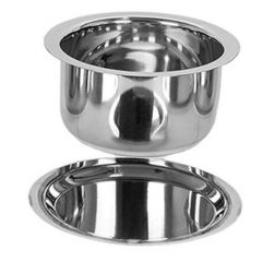 Stainless Steel Multipurpose Induction Flat Bottom Tope with Lid (Pack of 1)