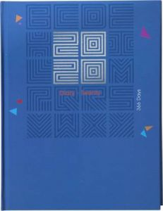 Toss Hard Bound Diary 2020 B5 Diary Single Rule 330 Pages (Blue) (Pack OF 1)