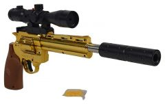 Anaconda Revolver Toy Gun Made With Platic For Outdoor Play (Pack Of 1)