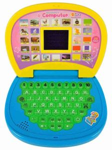 Plastic Material Toy Screen Laptop For Kids, Boys & Girls (Pack Of 1)
