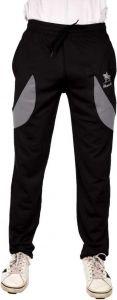 ADAAISTIC SPORTS Lycra Blend Printed Track Pants For Men's (Black)(Pack of 1)