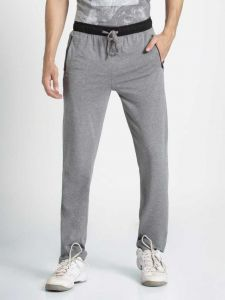 JOCKEY Comfortable and Durable Solid Cotton Track Pants For Men's (Pack of 1)