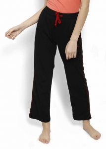 JOCKEY Comfortable Solid Cotton Blend Track Pants For Women's (Pack of 1)