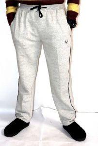 Livster Solid Men Grey Track Pants For Sports