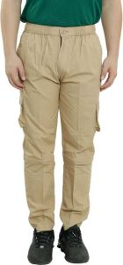 Livster Solid Men Track Pants For Sports (Brown)