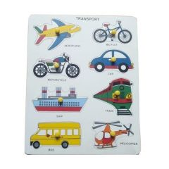 Transport Puzzle for Learning Kids (Pack Of 1)