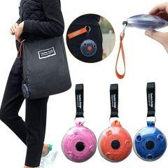 Homeoculture Folding Portable Travel Storage Nylon Bag|Reusable Shopping Bag|Grocery Large Foldable Shopping Tote Bags