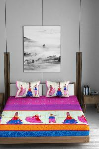 Jayram Textile | Jaipuri Bedsheet Is Made From Glace Cotton | Graceful And Modern Look