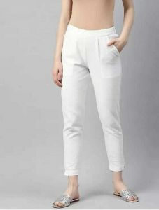 Fearless Fashion Casual Occasion And Regular Fit Cotton Blend Trousers For Women (Pack of 1)