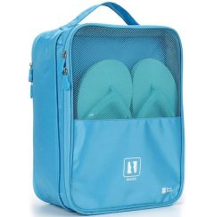 Nylon High-QualityWaterproof Travel Shoes Bag For Outdoor Traveling (Pack of 1)